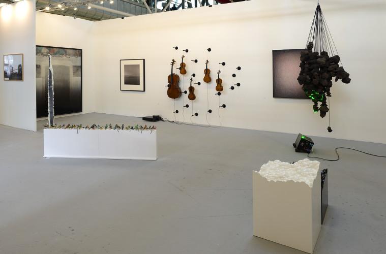 Una veduta dello stand di Studio la Città ad Arte Fiera 2016. Foto: Michele Alberto Sereni