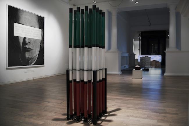 Sandro Mele, Spunti per l'avvenire, 2016_ veduta della mostra Galleria Art Forum Contemporary, Bologna