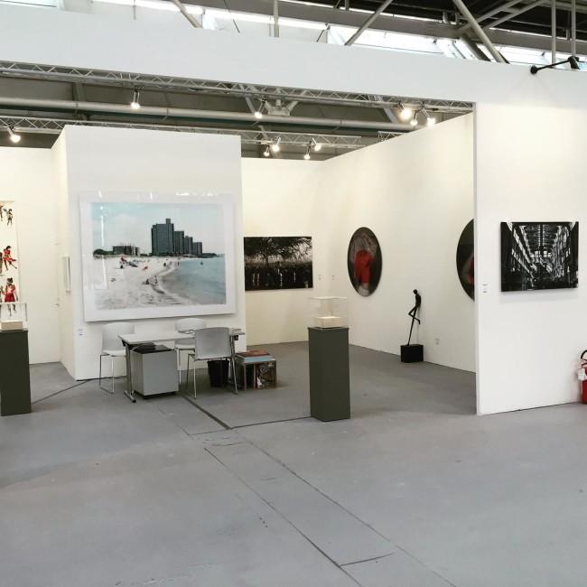 Una veduta dello stand di Guidi&Schoen ad Arte Fiera Bologna 2016