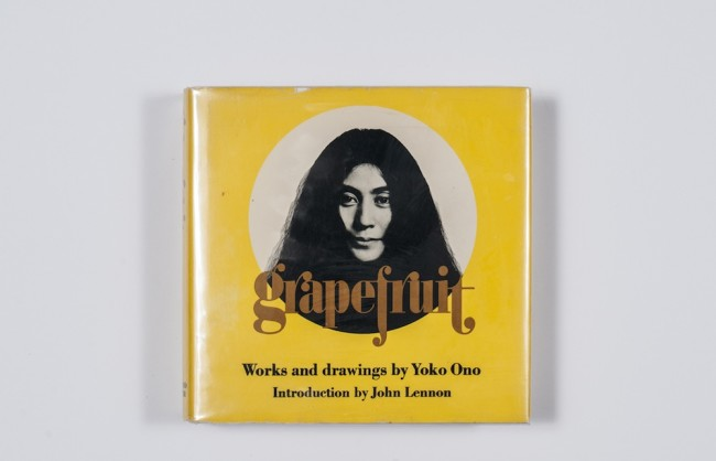 Yoko Ono, Grape fruit, 1970