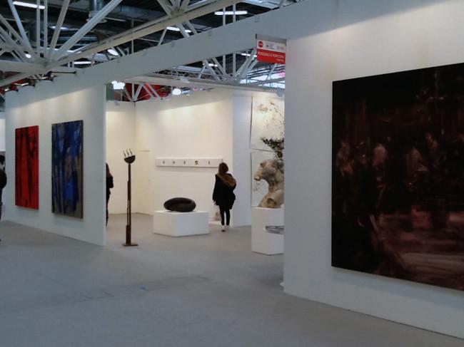 Galleria Poggiali e Forconi, veduta stand Arte Fiera 2016