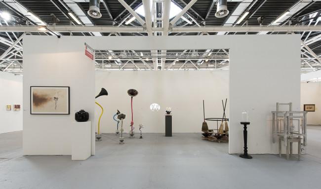 Una veduta dello stand di Galerie Mario Mazzoli ad Arte Fiera Bologna 2016