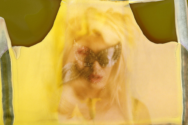 Maurizio Galimberti, Ari062013-002, New York, 2013 Polaroid singola, cm 8,5 x 9,8