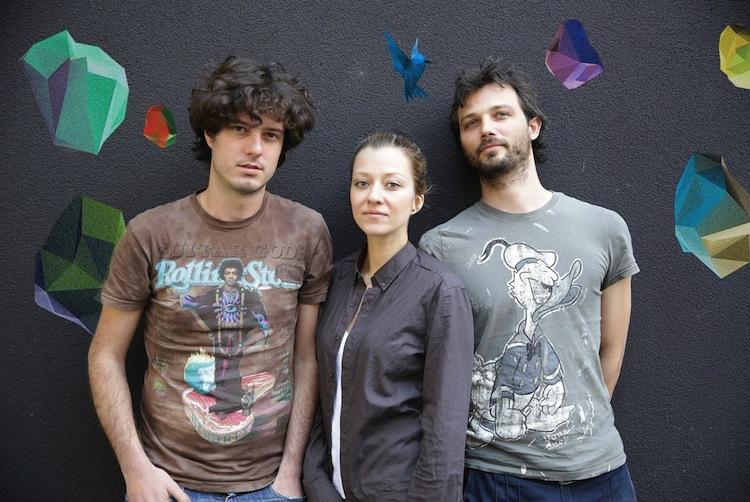 Bepart - (da sx) Giovanni Franchina, Lilia Haralampieva, Joris Jaccarino
