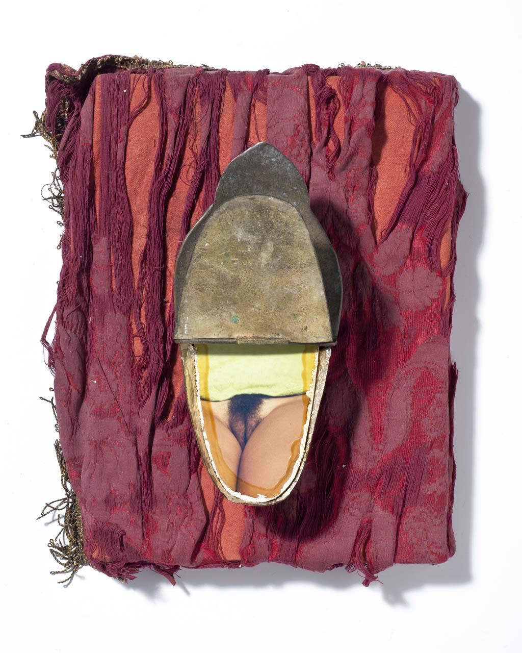 Corrado Anelli, Amor Sacro Amor Profano, tecnica mista (assemblaggio), Teramo 2005, coll. priv., courtesy l'artista
