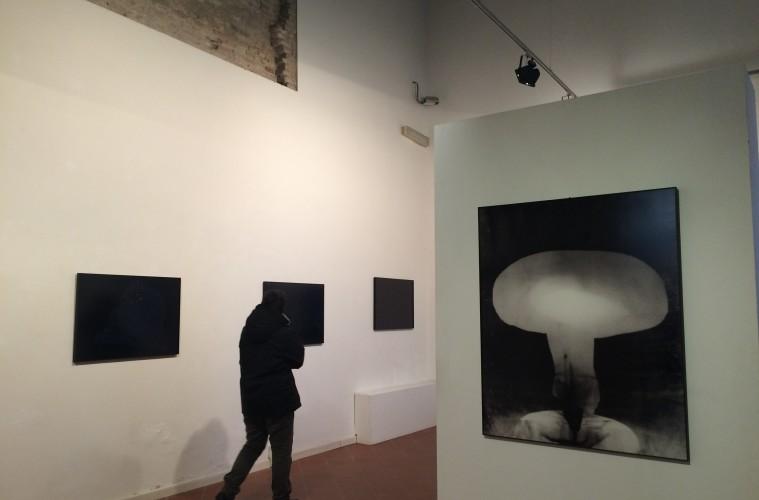 Davide Tranchina, Lontano, veduta della mostra al FAR Rimini