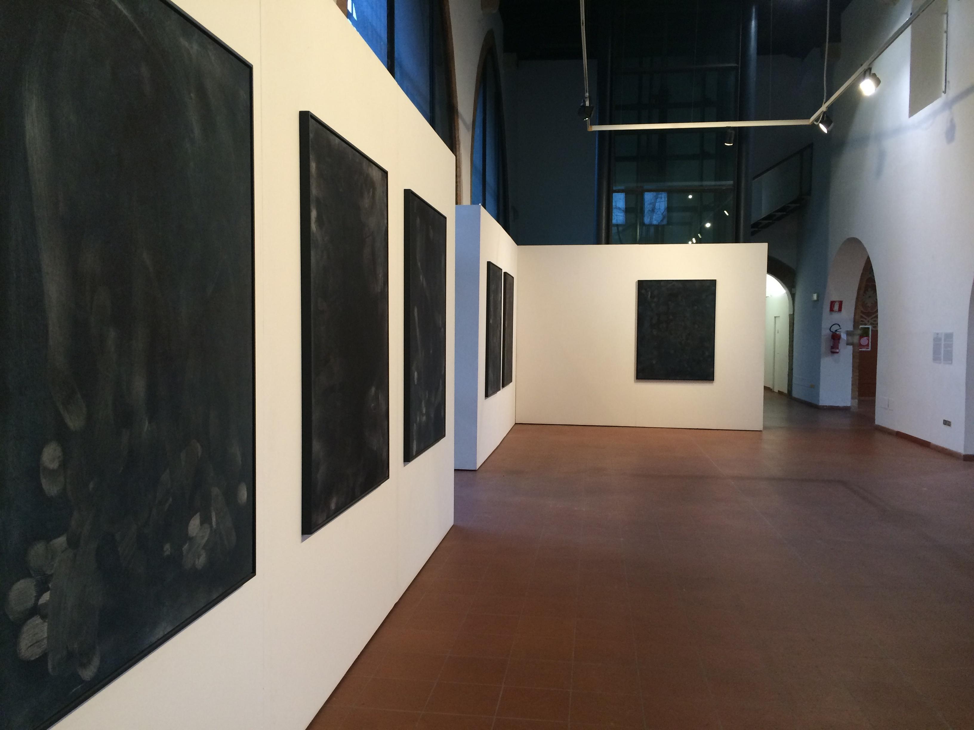 Simone Bergantini, All in, veduta della mostra al FAR Rimini