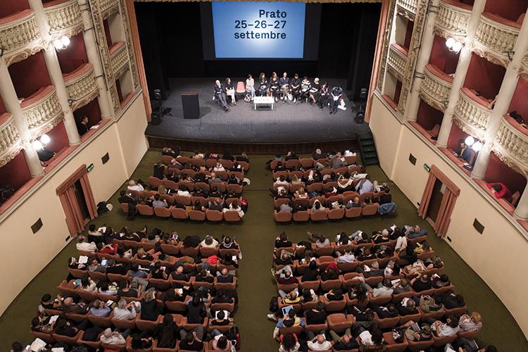 Forum dell'arte contemporanea italiana 2015, Teatro Metastasio, Prato. Foto: Claudia Gori