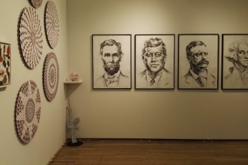 Stand Galerie Italienne, artisti Giuseppe Gallo, Nicola Bolla e Cornelia Badelita, PULSE New York