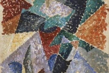 Gino Severini, Danse de l'Ours, 1913-1914, olio su tela, 36.5x27 cm