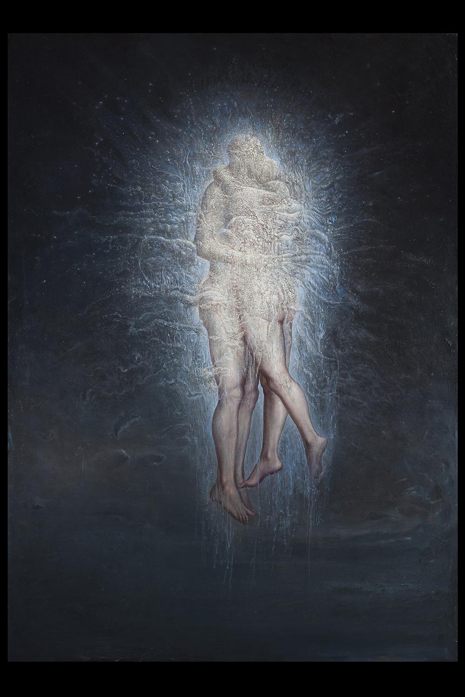 Agostino Arrivabene, Sacrum Facere, 2015-2016 olio su lino cm 191 x 135