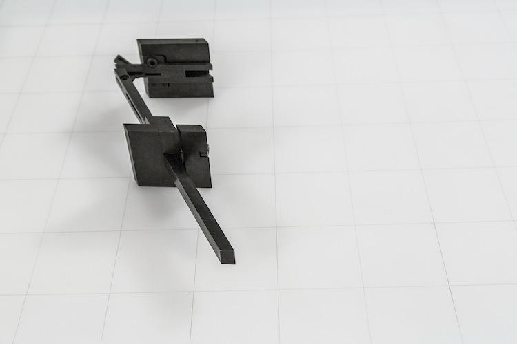 Paolo Gallerani, UPs/320, Prototipo 4.7, 1977, acciaio satinato