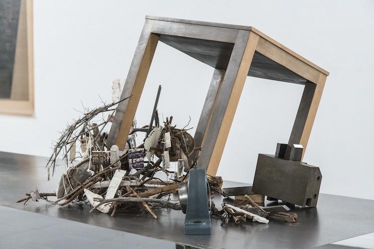 Paolo Gallerani, Diderot, 2008, particolare dell'installazione Foto di Fabio Mantegna