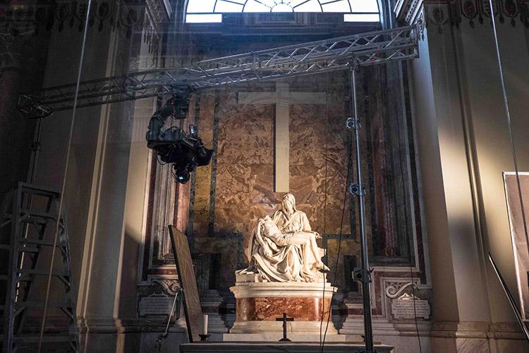 SanPietro e le Basiliche Papali di Roma in 3D (Pietà)