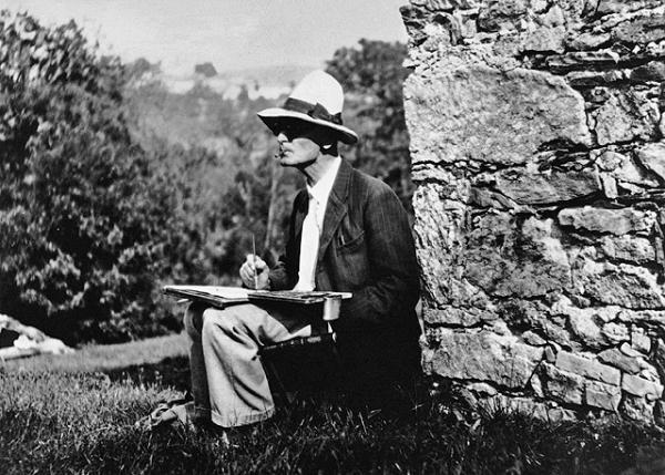 Un ritratto di Hermann Hesse. Courtesy Museo Hermann Hesse, Montagnola