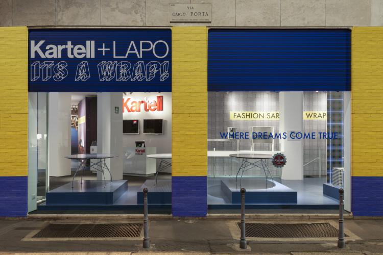 Kartell + Lapo, It's a Wrap, Fuorisalone 2016