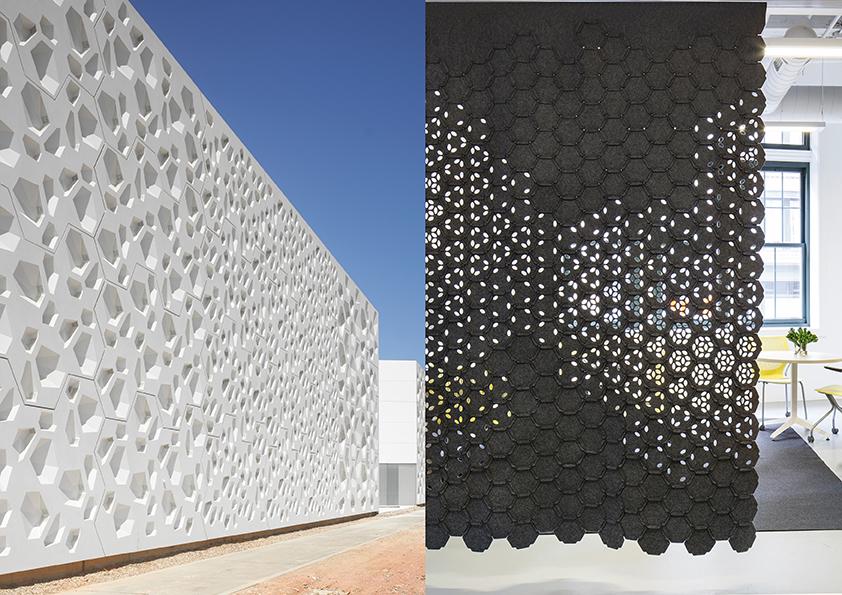 Nieto Sobejano Arquitectos, Contemporary Art Centre, Cordoba, Spagna, 2013 © Roland Halbe Gensler. Filzfelt, Link, 2015 © Bob O'Connor
