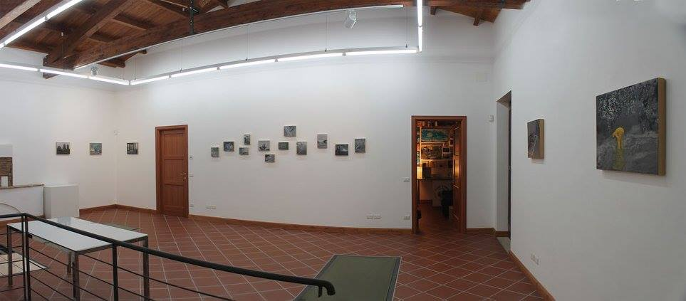 Veduta della mostra Periphery di Michele Attianese, Casa Turese, Vitulano (BN)