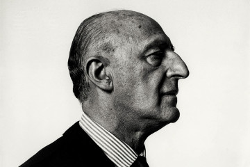 Gillo Dorfles, Milano,1966. Fotografia Ugo Mulas © Eredi Ugo Mulas. Tutti i diritti riservati