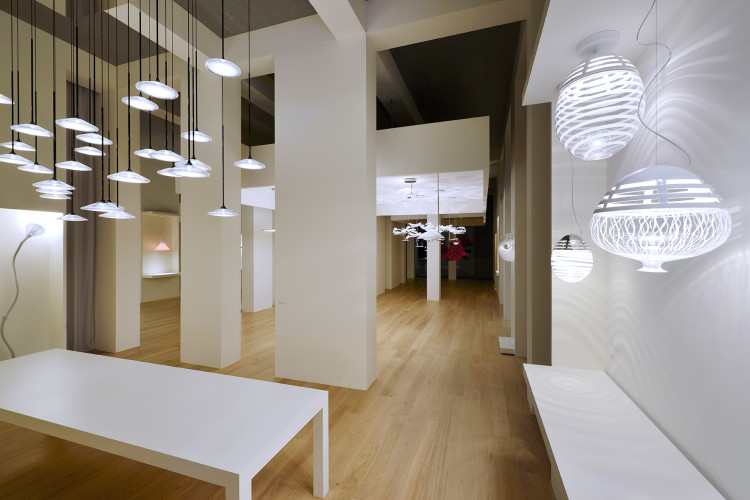 Artemide booth, Light+Building 2016