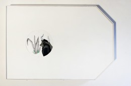 Federica Giulianini, Dis Pater, 2015, tecnica mista su tela e carta