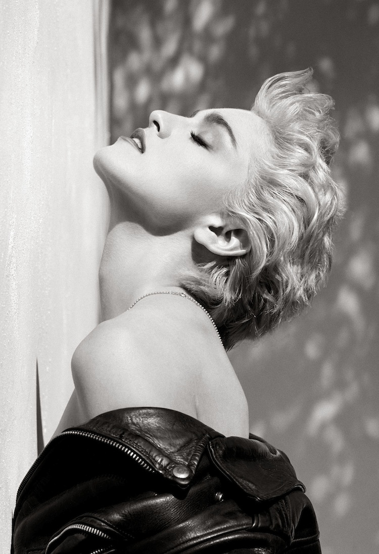 Herb Ritts, Madonna (Profilo True Blue), Hollywood 1986 © Herb Ritts Foundation