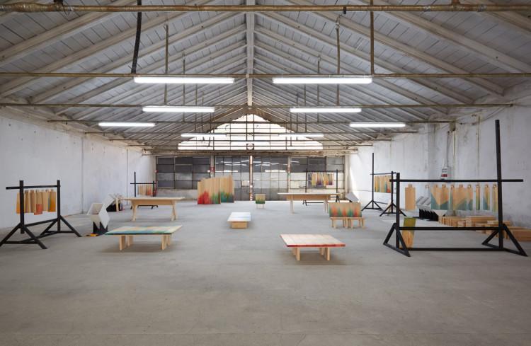 Raw Edges, Herringbones, Garage Sanremo, Fuorisalone 2016