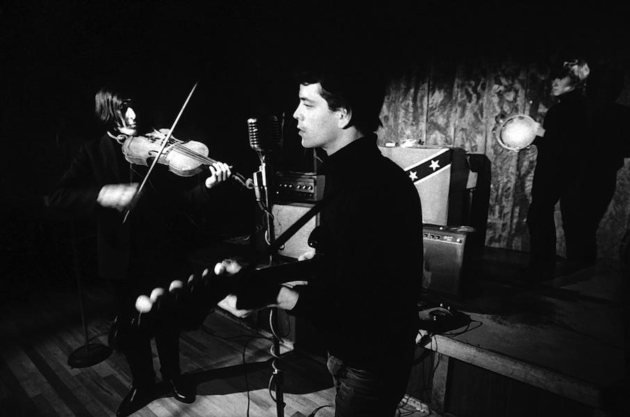 The Velvet Underground al Cafe Bizarre 1965 © Adam Ritchie