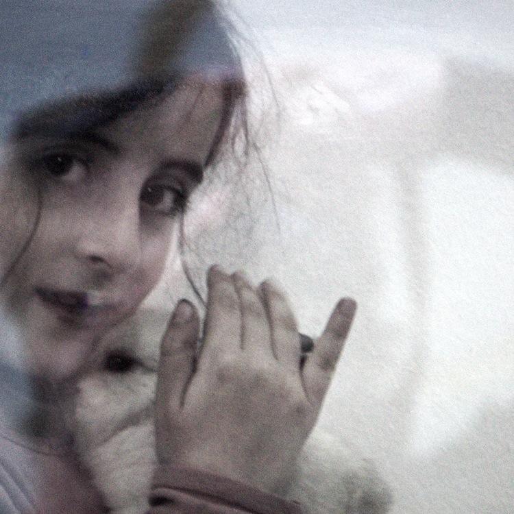 Luisa Menazzi Moretti, Solo 2, 2013, serie Solo, 25x25 cm