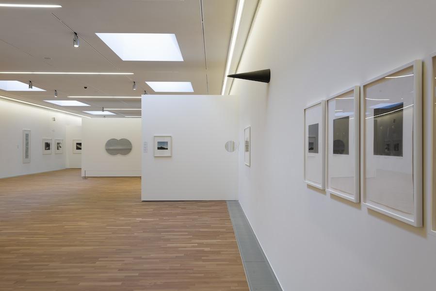 Markus Raetz, veduta della mostra, MASI Lugano, LAC 2016 Foto Studiopagi