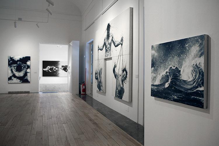 Palo Troilo, allestimento Museo Riso, Foto: Fabio Sgroi