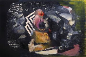 Pietro Geranzani, Gran pasaggio, 2013, olio su tela cm 200 x 300