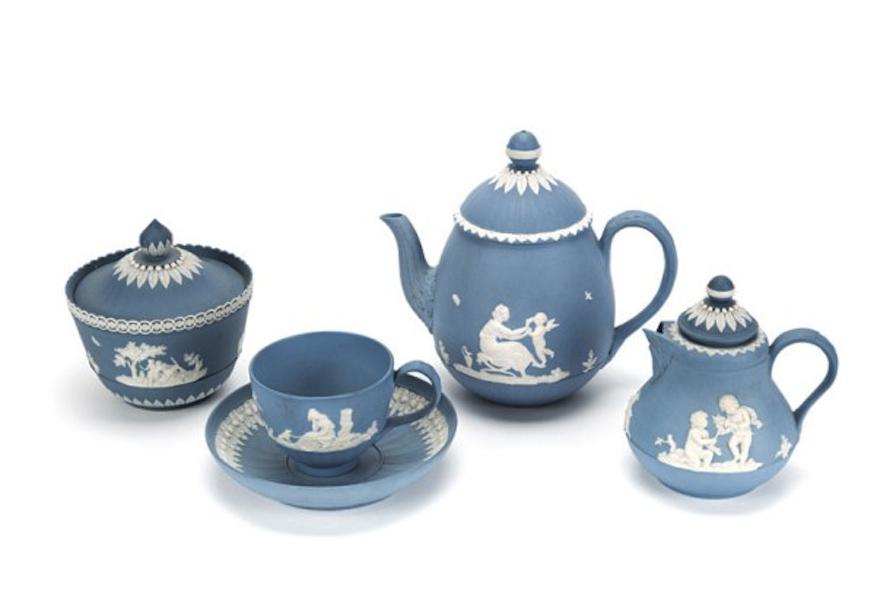 Servizio da colazione. William e John Turner, 1790-1806, Longton (Staffordshire)