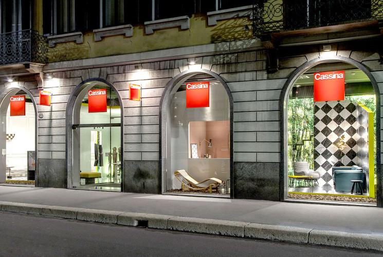 Showroom Cassina, Via Durini, Milano