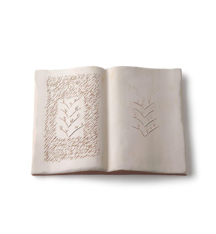 Ugo La Pietr, Verde Numero Due, Libro aperto, 2014 Courtesy l'Artista e Galleria Bianconi