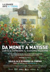 Da Monet a Matisse. L'Arte di dipingere il giardino moderno, locandina
