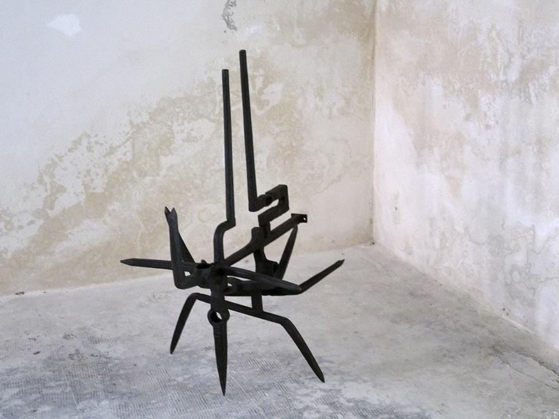 Miguel Berrocal Ortiz, Opus 6, Roma, 1957, ferro forgiato e saldato, 103x80x67 cm Courtesy Lorenzelli Arte, Milano Foto Andrea Repetto