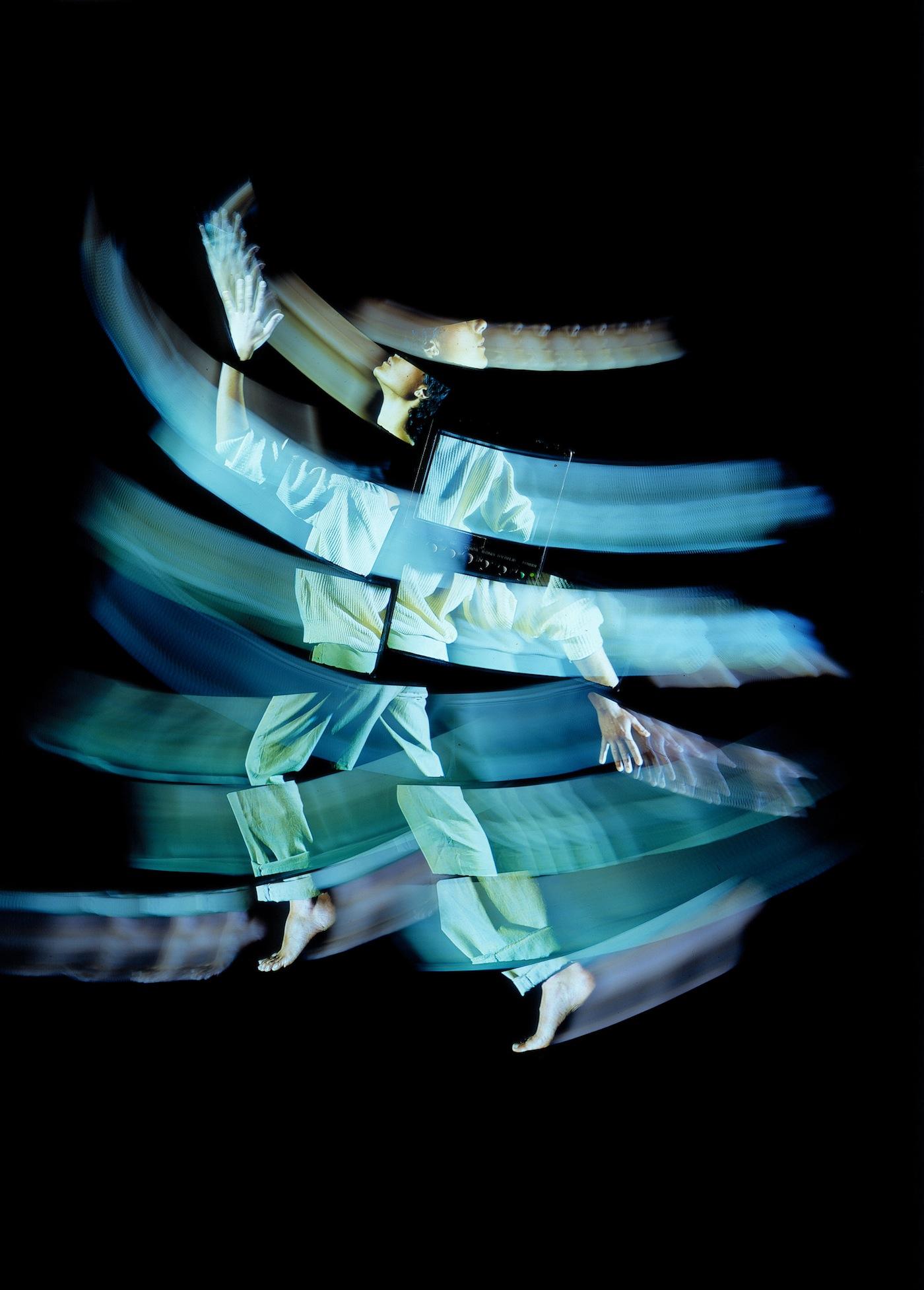 """STUDIO AZZURRO, Camera Astratta Opera video-teatrale in collaborazione con G. Barberio Corsetti 1987 """"Documenta 8"""", Kassel (Premio UBU 1988 per il Teatro di ricerca)"""