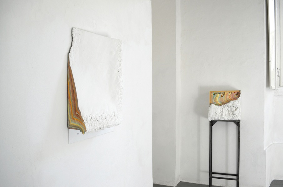 Diego Soldà. Spazio utile, veduta della mostra, Dimora Artica, Milano