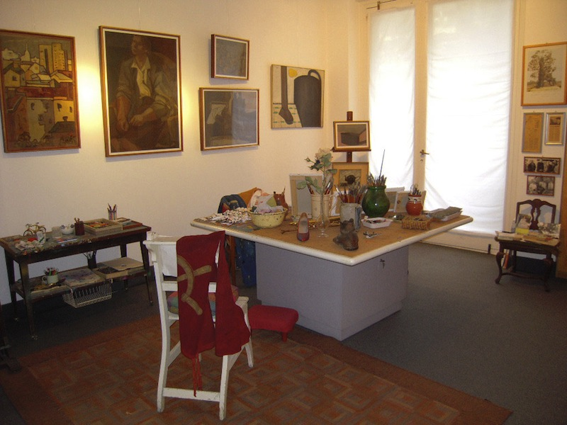 Atelier di Ernesto Treccani, Fondazione Corrente, Milano