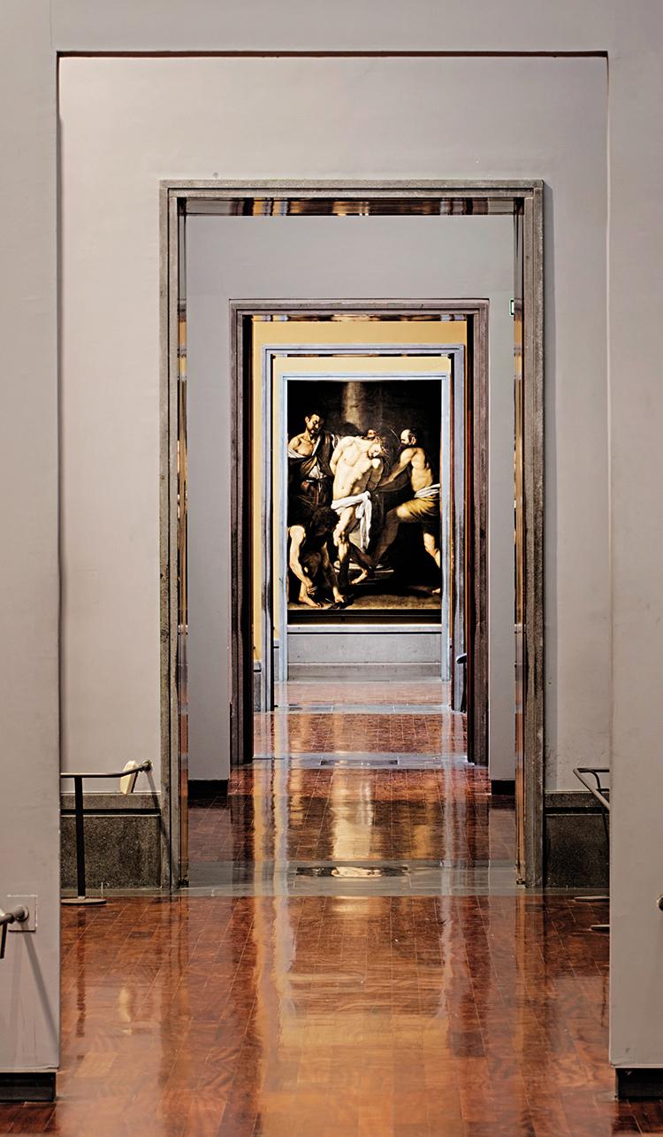 Museo di Capodimonte, Caravaggio, Flagellazione. Foto: Giuseppe Salviati