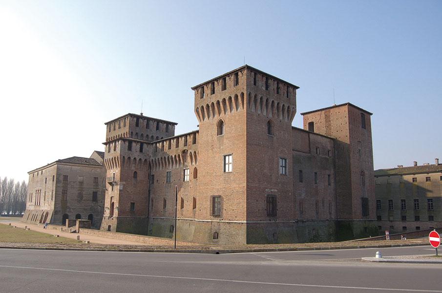 Veduta esterna di Castello San Giorgio, Mantova