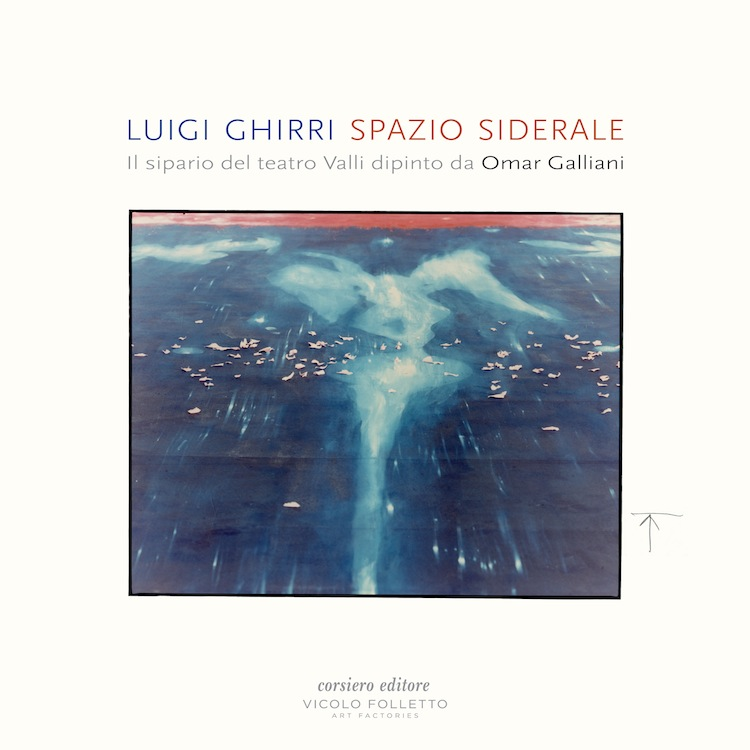 Copertina Luigi Ghirri, Spazio Siderale, Corsiero Editore, 2016