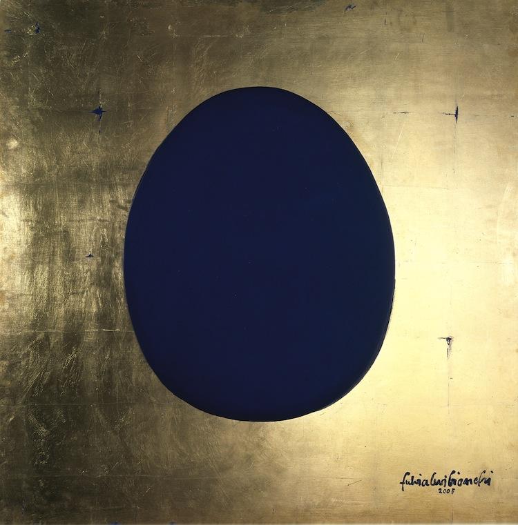 Fulvia Levi Bianchi, EKB, Homage, 2005, tecnica mista, 100x100 cm