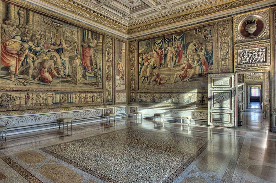 Palazzo Ducale, Mantova, Sala degli Arazzi