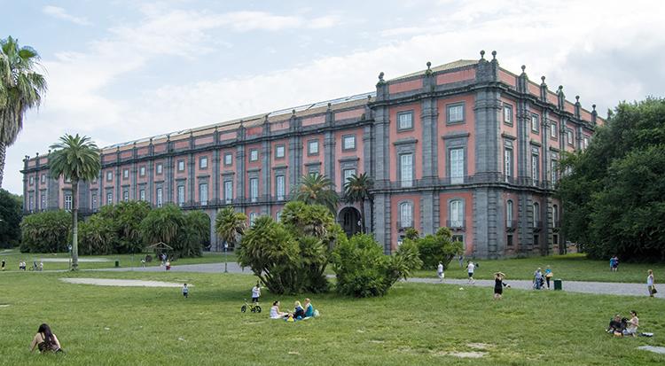 Museo di Capodimonte, esterno. Foto: Alessio Cuccaro