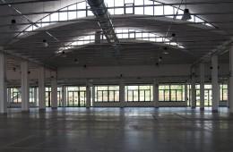 Una veduta degli spazi interni, Polo Fiere e Congressi, Lucca