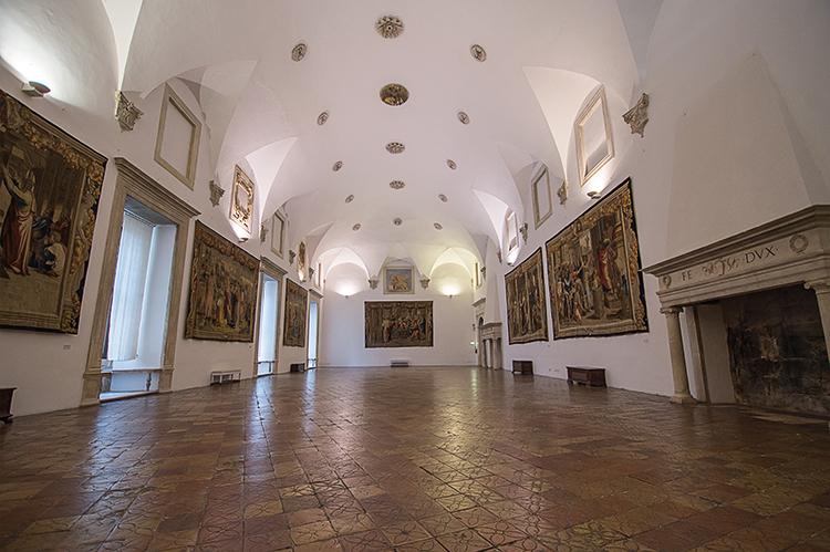 Sala espositiva della Galleria Nazionale delle Marche. Foto: Andrea Castellani