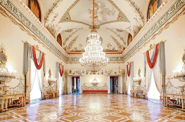 Museo di Capodimonte, Salone delle feste. Foto: Giuseppe Salviati