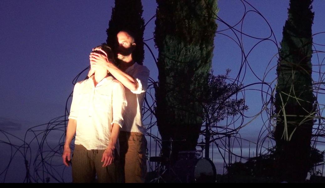 PILGRIM performance di Andrea Hackl e Robbert van Hulzen svoltasi sabato 18 giugno al Vigne Museum. Foto©Luigi Vitale